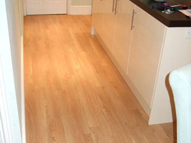 Amtico Floor In Kitchen