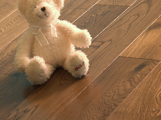 Brooks Bros Wood Flooring - M2009 Blenheim Smoked LAC