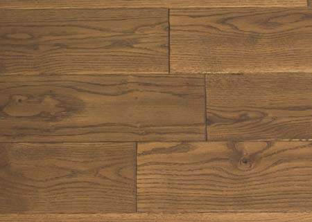 Brooks Bros Wood Flooring - S3001 OAK HS STAINED LAC 4adj
