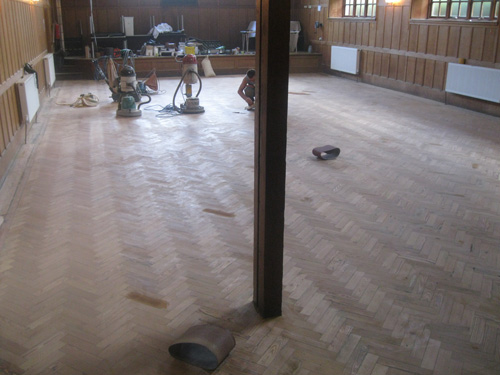 Central Hall 01 sanding
