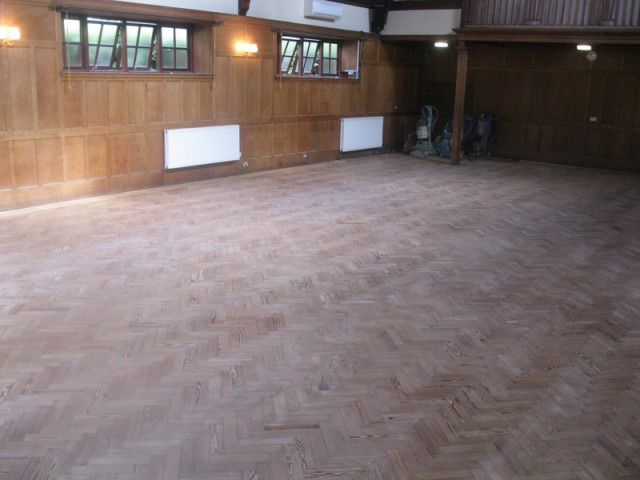 Central Hall Sanding