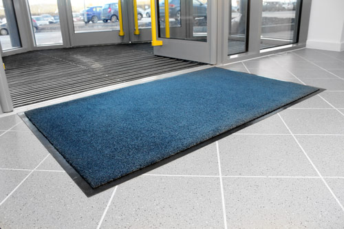 Entrance Mats - Entra Plush - Blue