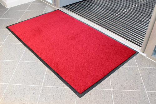 Entrance Mats - Entra Plush - Red