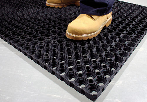 Entrance Mats - Ringmat Honeycomb