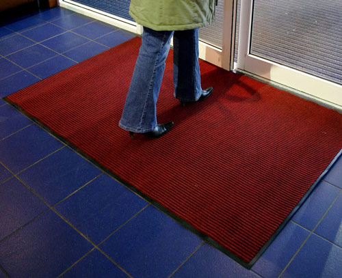 Entrance Mats - Toughrib red