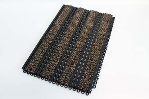 Entrance Matting Systems - Premier Track - Alba Brown