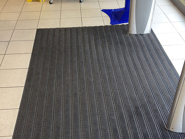 Coba Flooring - Entrance Matting Systems - Premier Track Anthracite