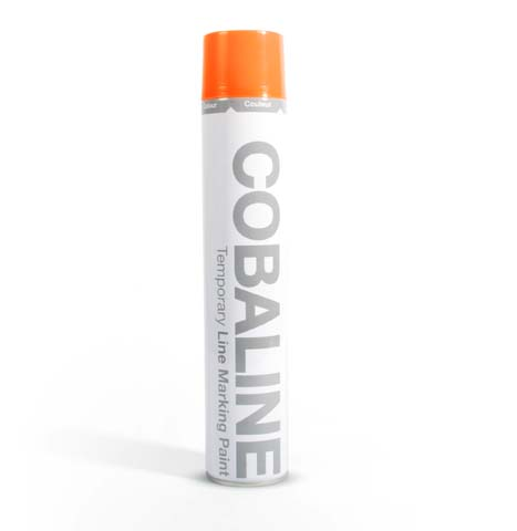 Coba Flooring - Floor Tape & Paint - COBAline Temp Orange