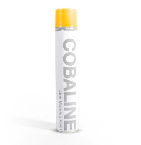 Floor Tape & Paint - COBAline Yellow