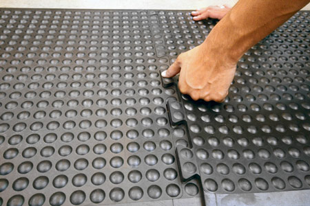 Coba Flooring - Workplace Matting - Bubble mat 7
