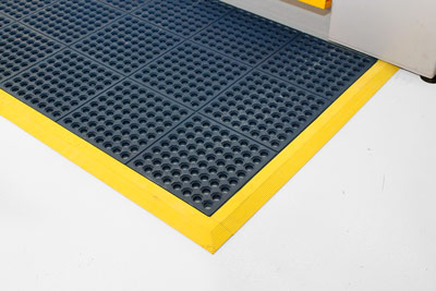 Workplace Matting - Fatigue Step - Blue
