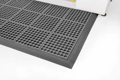 Workplace Matting - Fatigue Step - Grit Top