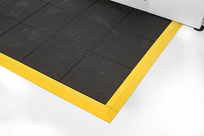 Workplace Matting - Fatigue Step - Solid Black