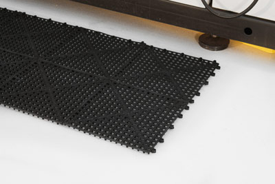 Workplace Matting - Flexi Deck - Black