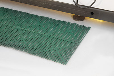 Workplace Matting - Flexi Deck - Green