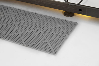 Workplace Matting - Flexi Deck - Grey