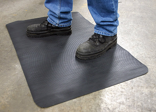 Coba Flooring - Workplace Matting - Fluted Anti-Fatigue