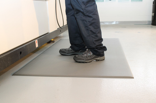 Workplace Matting - Orthomat - Grey
