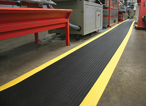 Workplace Matting - Orthomat Safety Diamond