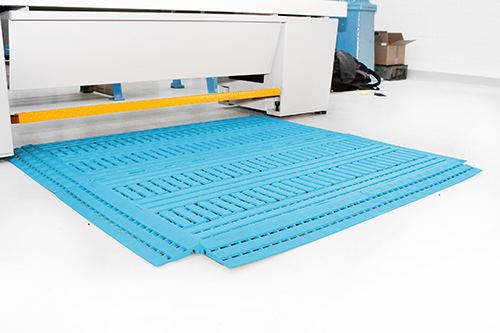Coba Flooring - Workplace Matting - Work Deck - Blue