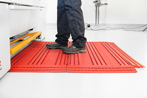 Workplace Matting - Work Deck - Red
