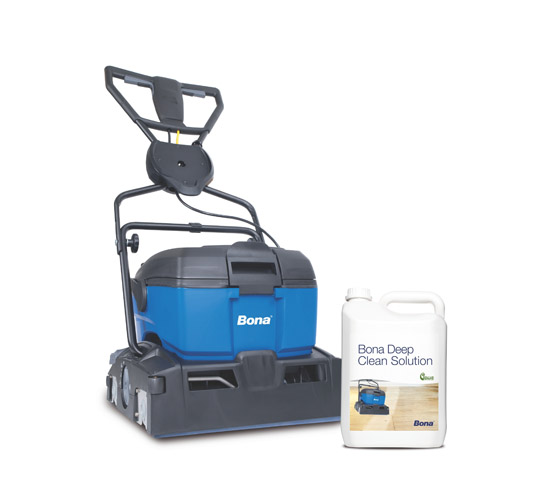 Deep clean with clean solution_4