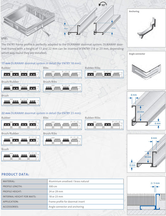 Dural - Entry Specifications