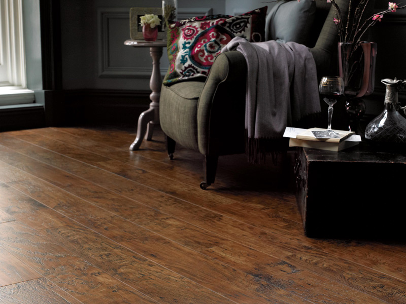 Karndean - Art Select Wood Flooring - EW01 Hickory Paprika