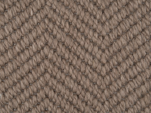 Fibre Flooring - Wool herringbone Grouse
