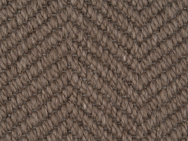 Fibre Flooring - Wool herringbone Partridge