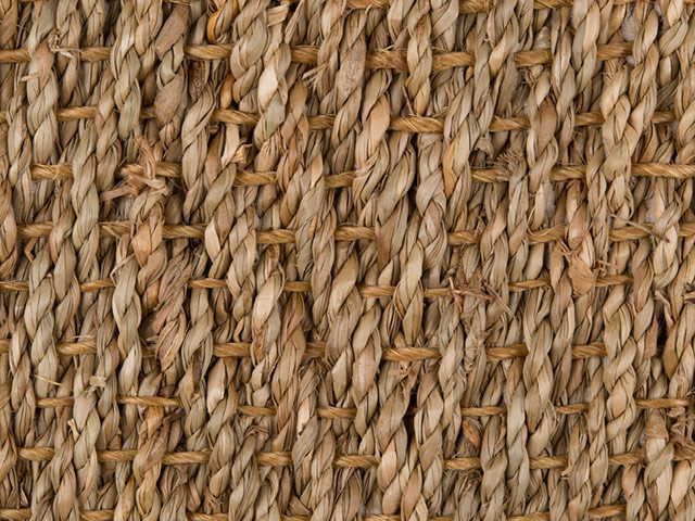 Fibre Flooring - Seagrass Herringbone Natural