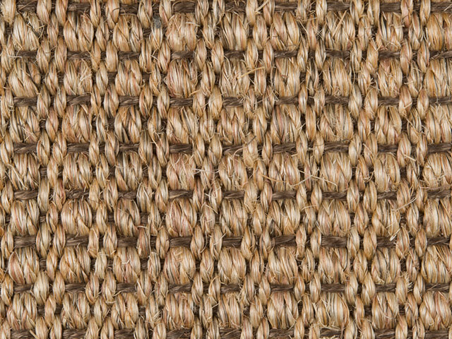 Fibre Flooring - Sisal Amazon Brown Weft
