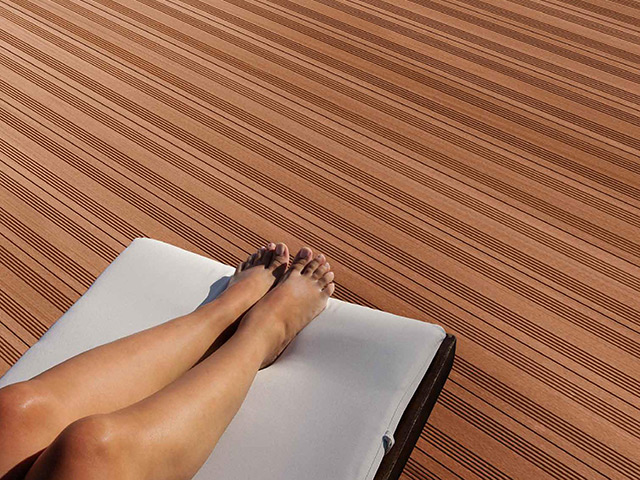 Futura Floors – Outdoor Decking – WPC Light Brown