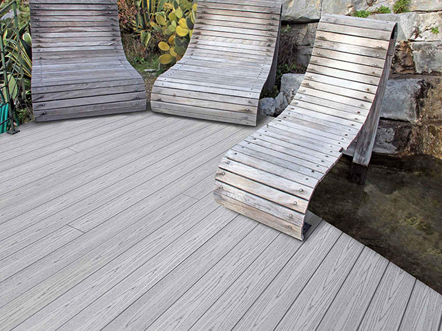 Futura Floors – Outdoor Decking – WPC Light Grey