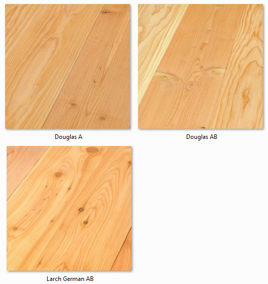 Futura Floors - Wooden Flooring Solid Oak - Castle Planks Solid Softwood variants