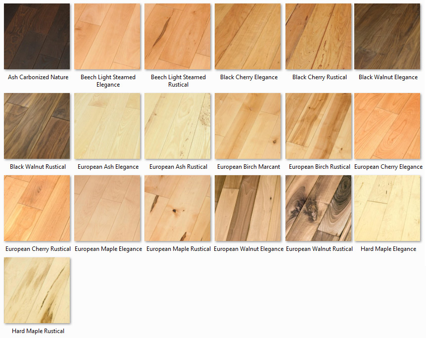 Futura Floors - Wooden Flooring Solid Oak - Wooden Flooring Solid Hardwood variants