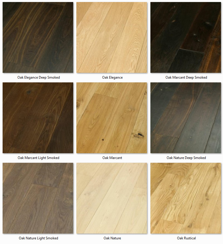 Futura Floors - Wooden Flooring Solid Oak variants