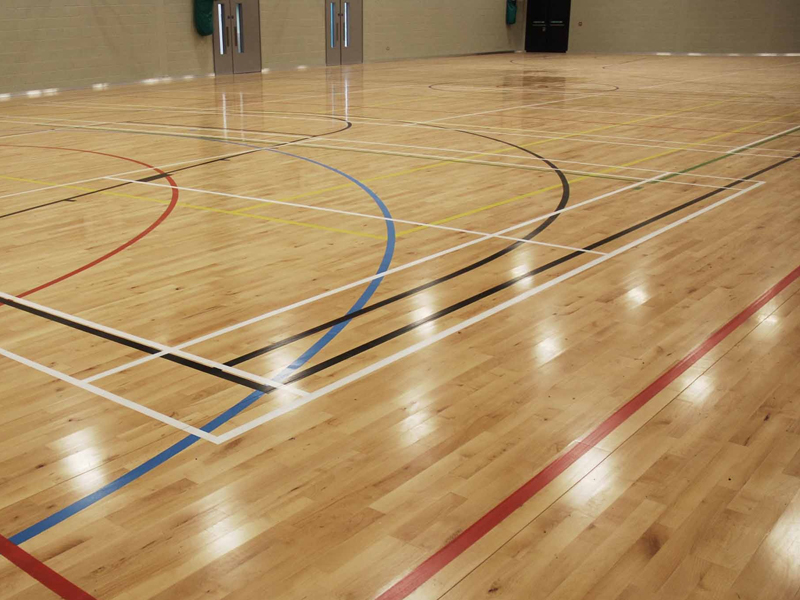 Junckers - Gorton Education Village Sports Hall