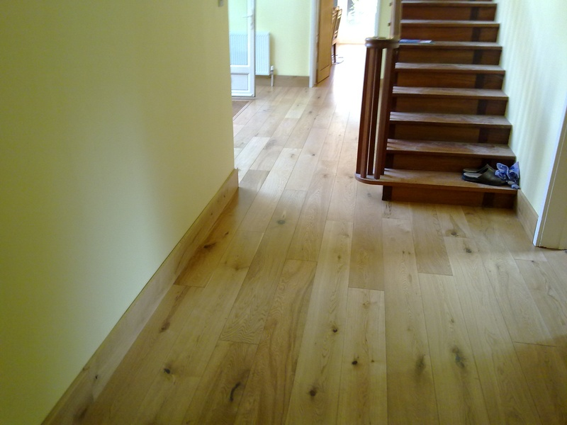 Amtico Floor Stairs & Living Room