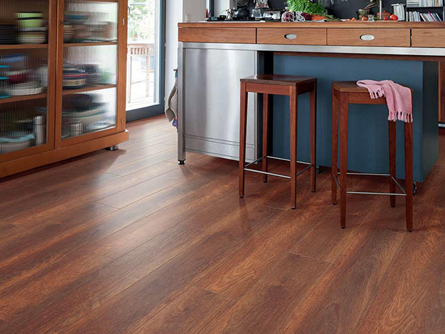 Haro laminate floor merbau macao the flooring group for Laminate flooring waterloo
