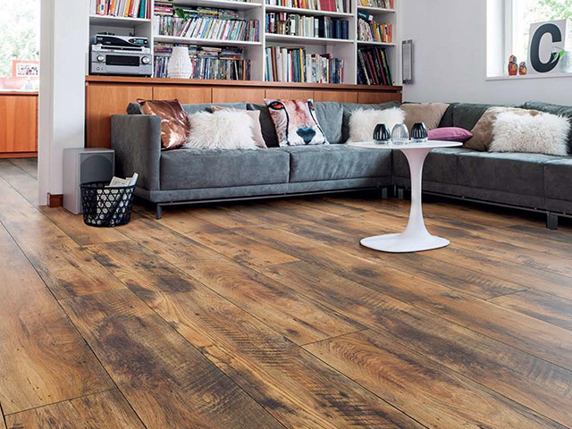 Haro laminate floor vintage oak the flooring group for Laminate flooring waterloo