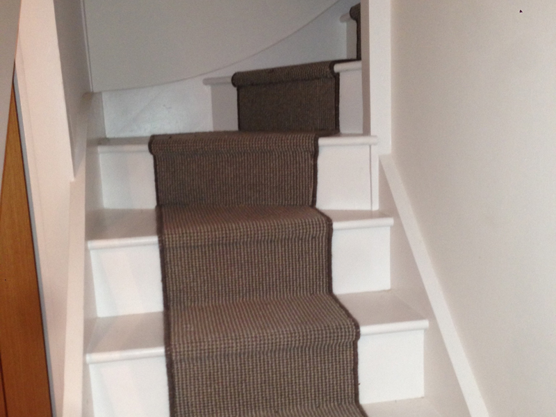 Stair Runner grey carpet