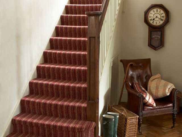 Kingsmead Staircase Rainbow Stripes Carpets