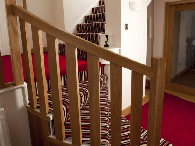 Kingsmead Ccarpet Artwork Stairs