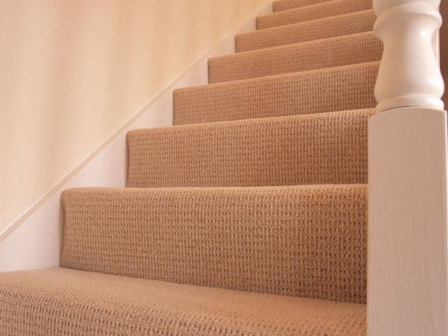 Kingsmead carpets on stairs