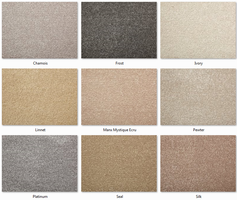Manx Carpets - Easy Living Collection - Mystique range