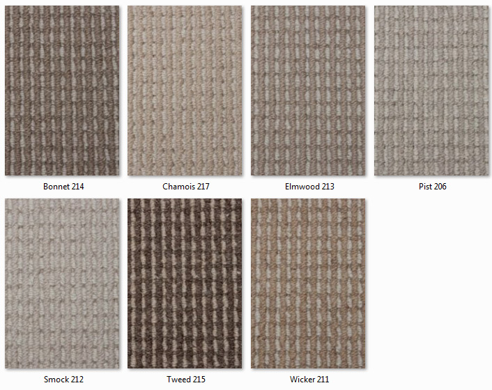 Manx Carpets - Eco Collection - ECODesigns range