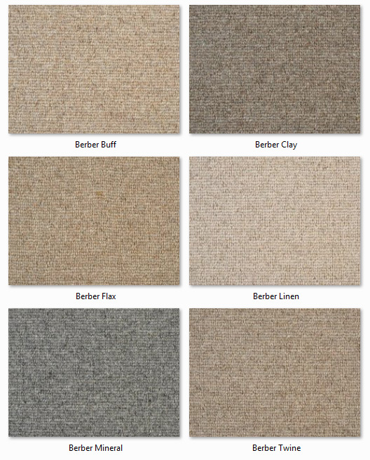 Manx Carpets - Natural Collection - Designer Berber range