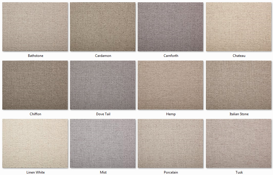 Manx Carpets - Natural Collection - Fitzrovia range