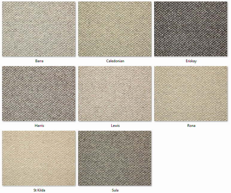 Manx Carpets - Natural Collection - Hebridean range